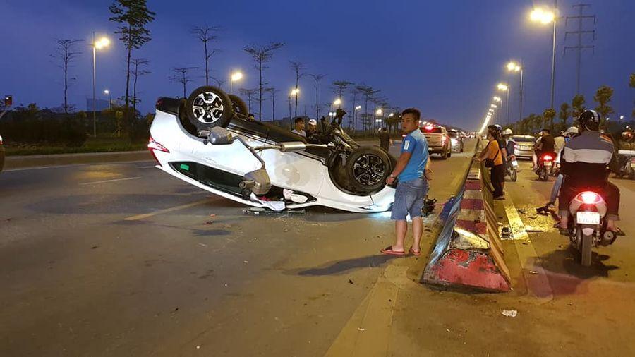 Honda CRV 2019 tai nạn