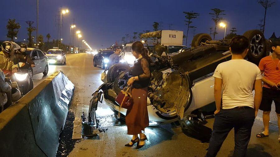 Vụ tai nạn nghiêm trọng xảy ra cho xe Honda CRV 2019 mới