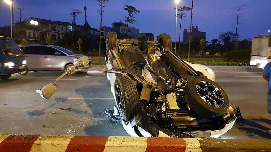 Tai nạn xe Honda CRV 2019