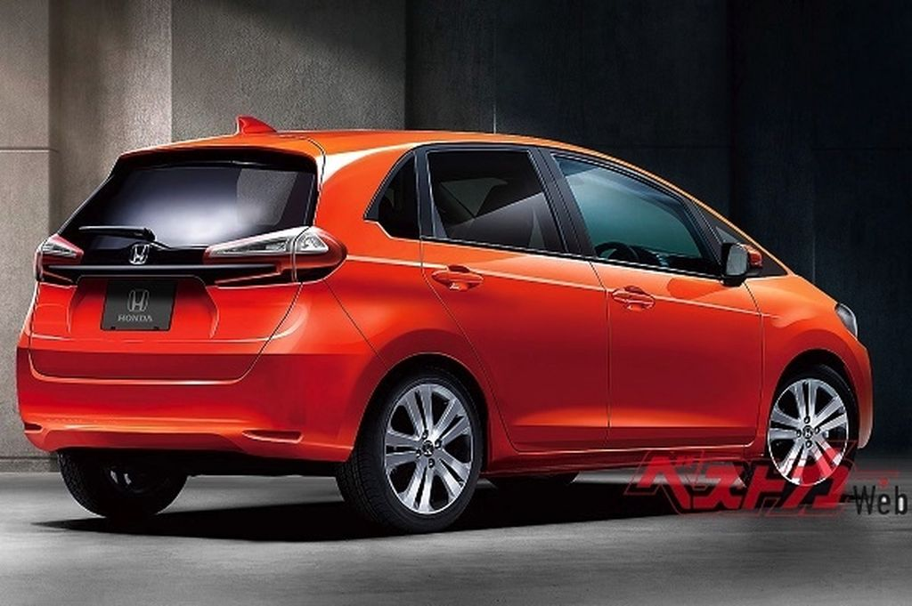 Giá xe Honda Jazz 2020 màu cam nhập Thái Lan