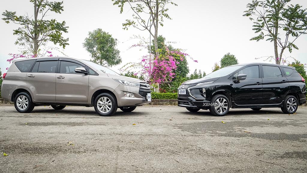 Mitsubishi Xpander MT vs Toyota Innova MT