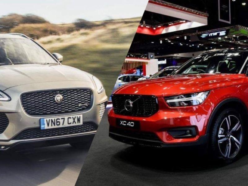 SO SÁNH] Cuộc quyết chiến giữa Volvo XC40 2019 và Jaguar E-Pace 2018