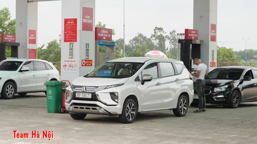 Mitsubishi Xpander - Từ Hà Nội đến Đà Nẵng chỉ với một bình