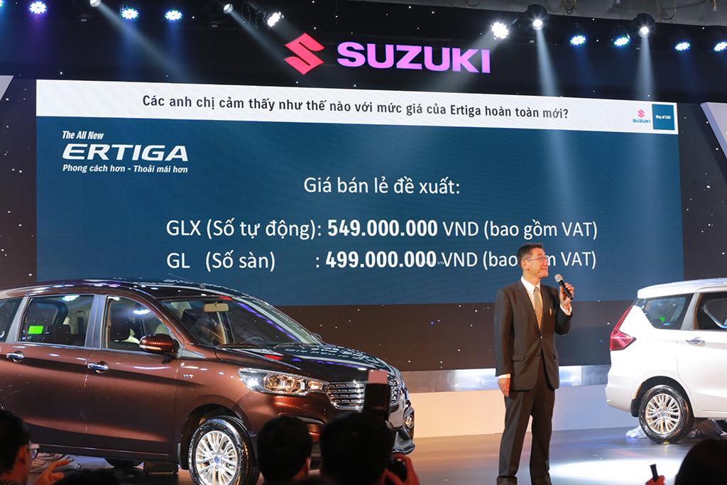 Suzuki Ertiga 2019 Chinh Thức Trinh Lang Gia Sập San Chỉ