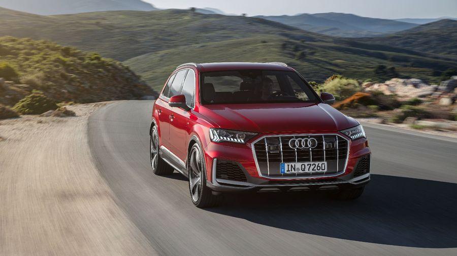 Suv Hạng Sang Audi Q7 2020 Nang Cấp Cả Ngoại Thất Lẫn Cong Nghệ