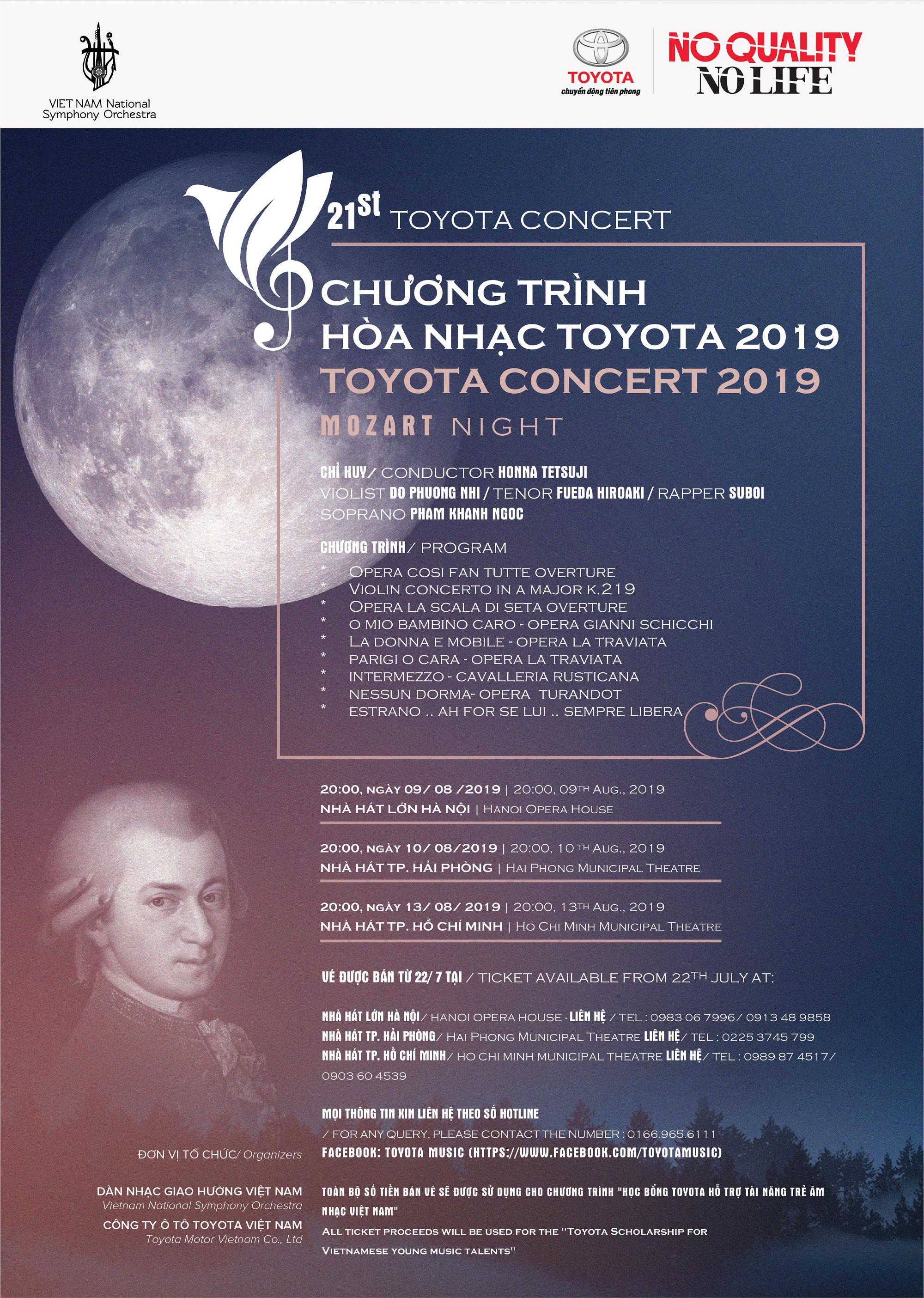 Hòa nhạc Toyota 2019