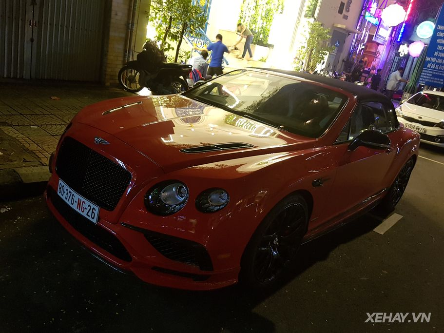 dien kien hang hiem bentley continental supersports convertible series 2 dau tien tai viet nam