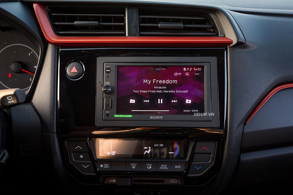 Màn hình cảm ứng xe Honda Brio Rs 2019