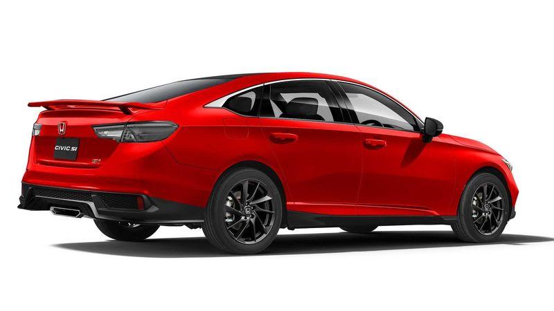 Honda Civic Si màu đỏ