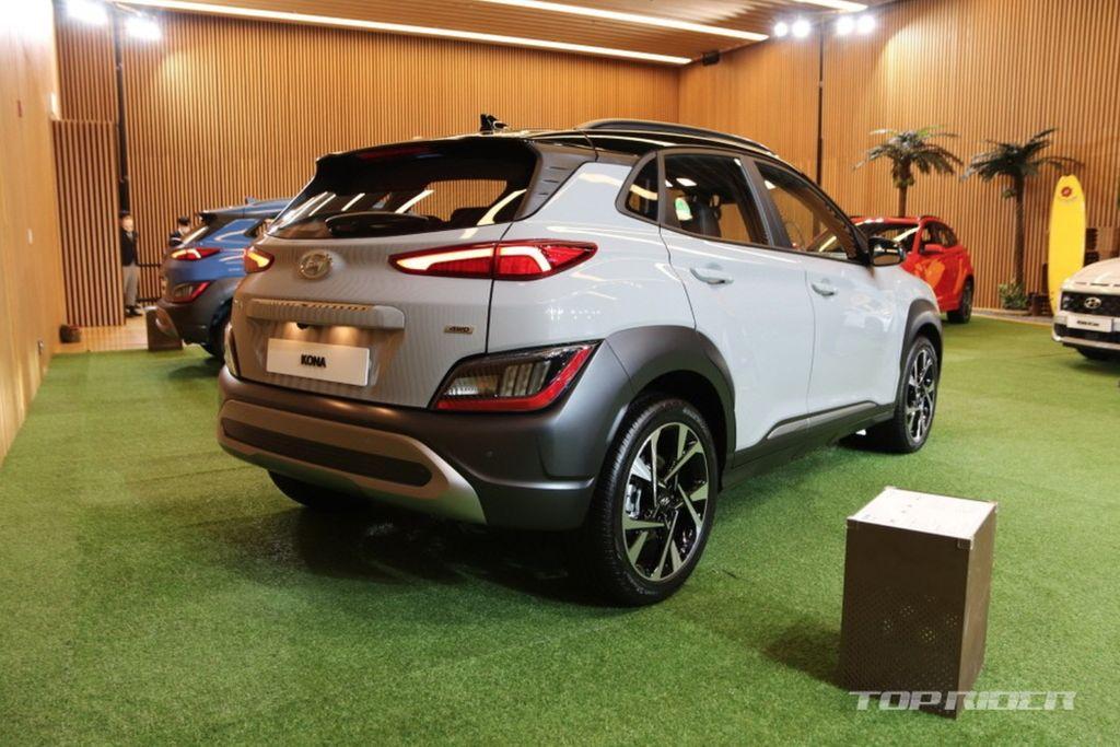 Xehay KONA 171020 10 Hyundai Kona 2021 nét đẹp riêng dành cho giới trẻ năng động