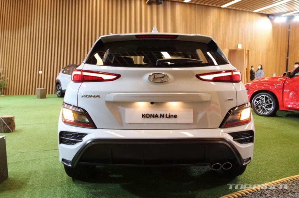 Xehay KONA 171020 11 Hyundai Kona 2021 nét đẹp riêng dành cho giới trẻ năng động