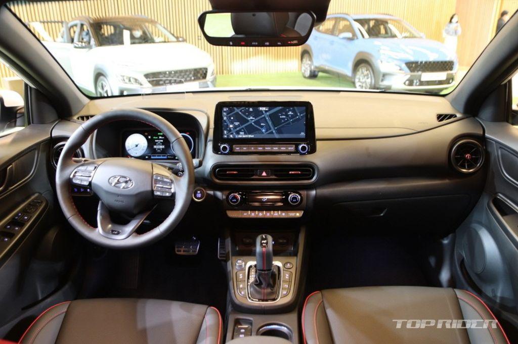 Xehay KONA 171020 12 Hyundai Kona 2021 nét đẹp riêng dành cho giới trẻ năng động