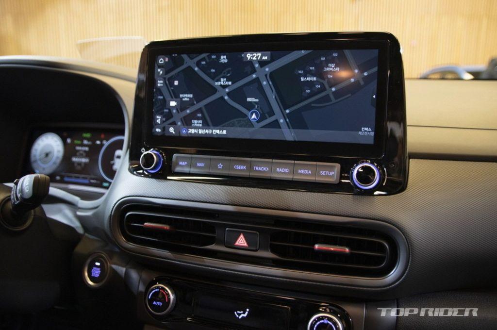 Xehay KONA 171020 14 Hyundai Kona 2021 nét đẹp riêng dành cho giới trẻ năng động