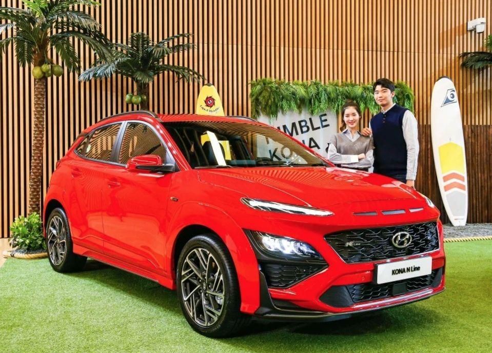 Xehay KONA 171020 9 Hyundai Kona 2021 nét đẹp riêng dành cho giới trẻ năng động