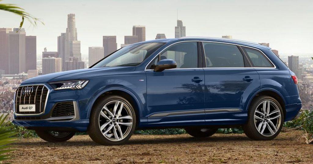Audi Q7 Chinh Thức Ra Mắt Bản Facelift 2020 Gia Ban Từ 3 5 Tỷ Vnđ