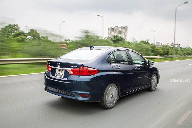 Hông xe Honda City 2020 màu xanh | Hotline: 0917.325.699