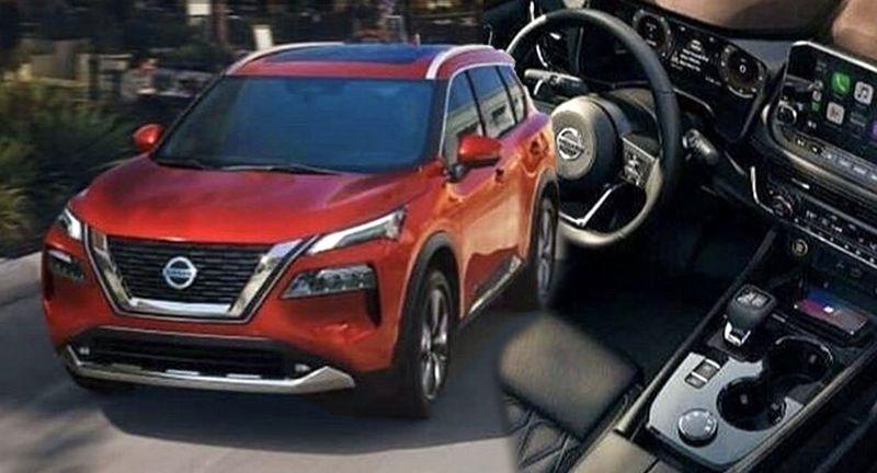 """Nissan X-Trail 2021 """"lộ hàng"""" trước ngày ra mắt, cuộc cách mạng về thiết kế"""