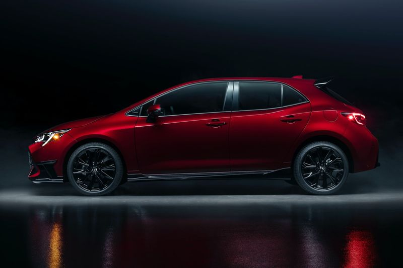 toyota corolla hatchback special edition 2021 launched