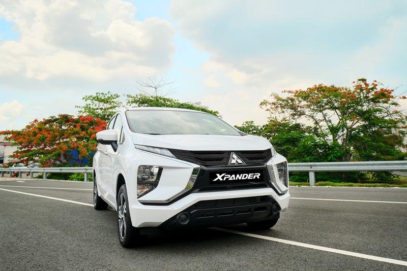 Mitsubishi Xpander 2020 màu trắng mới