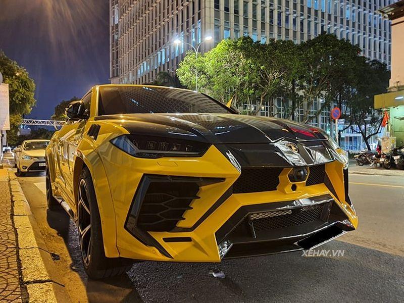 otolife Lamborghini Urus lạ trước