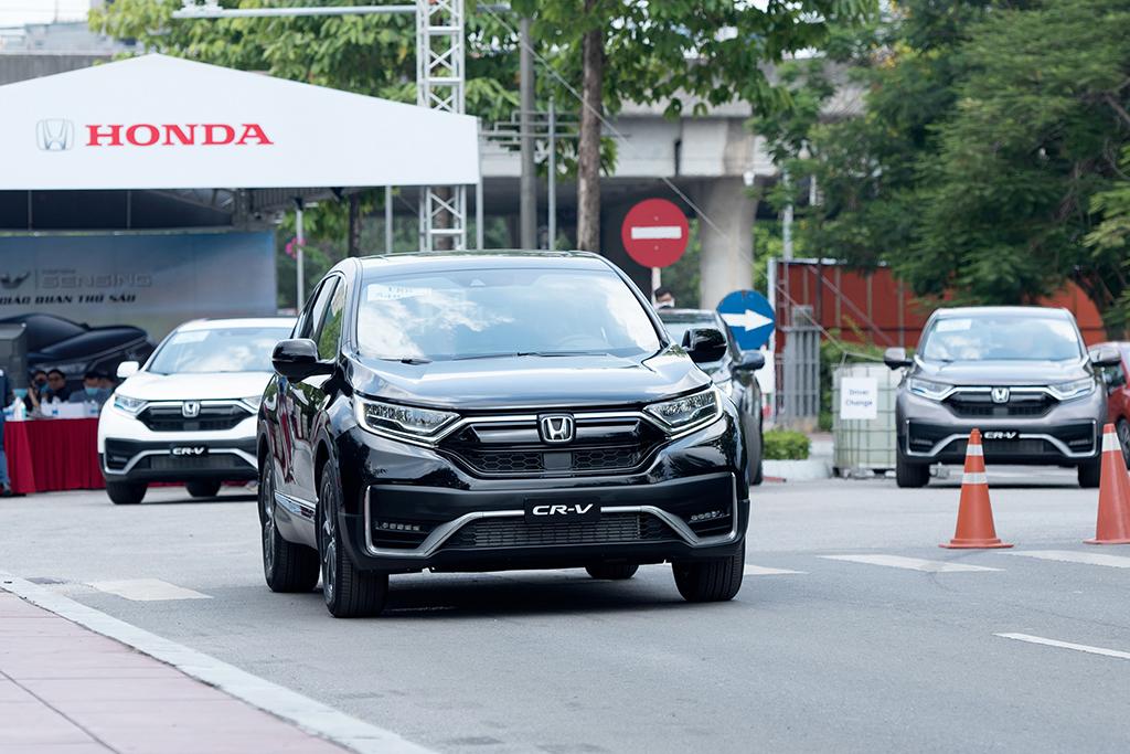 Honda CRV 2020 màu đen mới