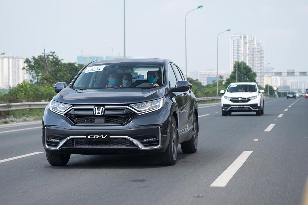 Honda CRV 2020 màu xanh mới