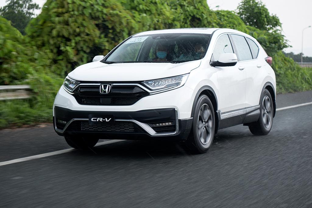 Honda CRV 2020 màu trắng mới