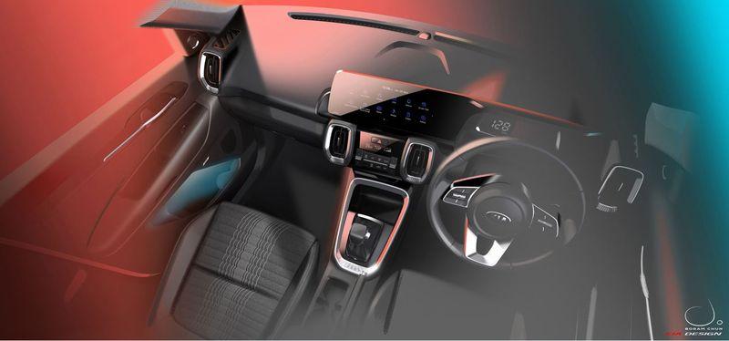 xehay kia sonet 31072020 3 result Crossover cỡ nhỏ Kia Sonet 2021 có màn hình trung tâm như trên xe sang