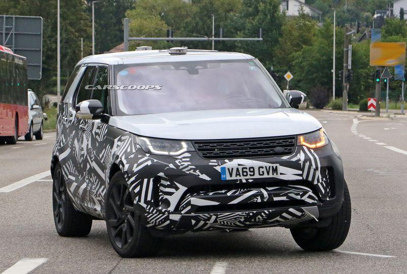 xehay Land Rover Discovery 19082020 2 result Land Rover Discovery 2021 lộ màn hình cảm ứng khổng lồ