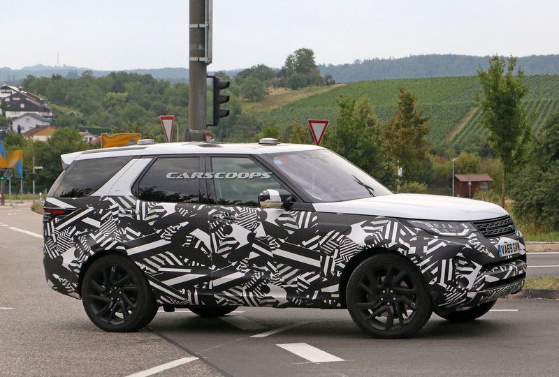xehay Land Rover Discovery 19082020 3 result Land Rover Discovery 2021 lộ màn hình cảm ứng khổng lồ