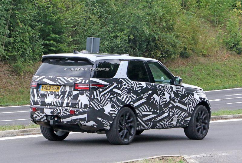 xehay Land Rover Discovery 19082020 4 result Land Rover Discovery 2021 lộ màn hình cảm ứng khổng lồ