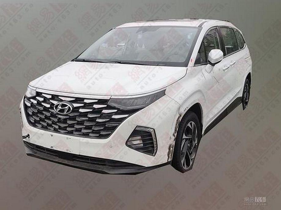 Xehay Custo 210820 11 Hyundai Custo - mẫu MPV Hàn Quốc lộ diện qua những hình ảnh đầu tiên