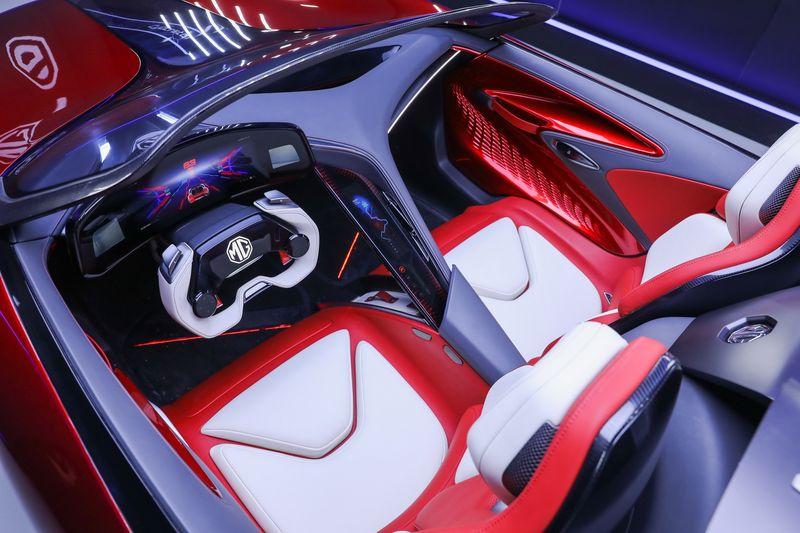 MG hé lộ diện mạo của siêu xe điện Cyberster Concept mới, có thể đi 800 km khi sạc đầy
