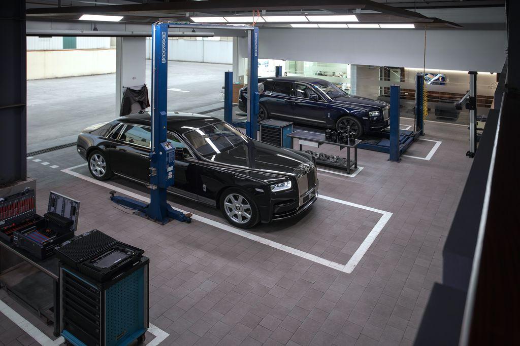 Phí bảo dưỡng Rolls-Royce tại Việt Nam có giá từ 120,5 triệu VNĐ