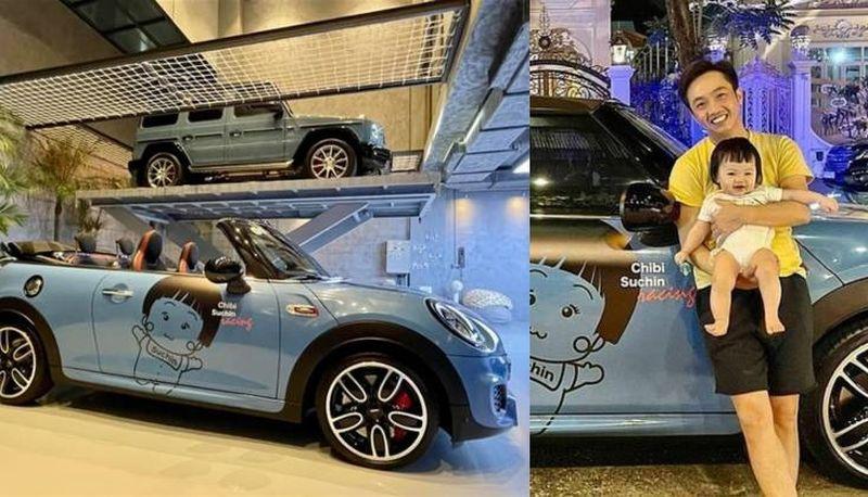 """Hội """"rich kid"""" sở hữu xe riêng từ nhỏ: Bé Suchin nhà Nguyễn Quốc Cường có hẳn 2 chiếc"""