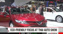 Xe thân thiện môi trường nổi bật tại triển lãm ô tô ở Thái Lan