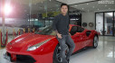 """Siêu xe Ferrari của Tuấn Hưng bị tai nạn: Những lần """"đứt ruột"""" khi siêu xe triệu USD bị tan nát"""