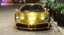 """Ferrari 488 GTB của đại gia Tiền Giang đổi biển và khoác dàn áo """"dát vàng"""" vô cùng nổi bật"""