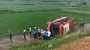 Lật xe khách trên cao tốc Pháp Vân- Cầu Giẽ, hành khách la hét kêu cứu