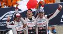 Đội Toyota vô địch giải đua xe 24 Giờ ở Le Mans