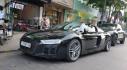Siêu xe Audi R8 V10 Plus 2016 bất ngờ xuất hiện tại phố Nguyễn Huệ, Sài Gòn