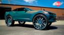 Chevrolet Camaro Convertible 2016 kì dị với bộ vành 32 inch của Forgiato