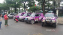 """Dàn xe """"hầm hố"""" diễu hành trước giờ khai mạc VOC 2017"""