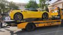 """Ferrari 488 GTB màu vàng đầu tiên tại Bình Dương đi """"đóng biển"""""""