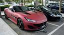 Bắt gặp siêu xế Ferrari Portofino độc đáo với ngoại thất tông đỏ - đen sơn mờ