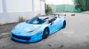 """Ferrari 458 Italia độ Liberty Walk độc nhất Việt Nam, bớt """"hung dữ"""" với dàn áo xanh ngọc"""