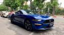 """Ford Mustang 2018 màu xanh dương độc nhất Việt Nam """"thả dáng"""" trên phố"""