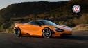 McLaren 720S rực rỡ với bộ cánh da cam và các la-zăng độc đáo