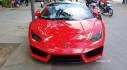 """Sài Gòn: Lamborghini Huracan LP580-2 và Ferrari 488 GTB SVR rủ nhau đi """"uống cafe"""""""