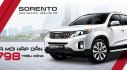 Kia Sorento giảm giá xuống 798 triệu đồng - thấp nhất trong phân khúc SUV 7 chỗ tại Việt Nam